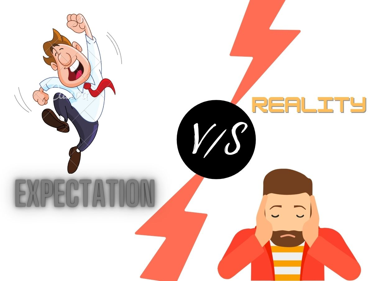 Read more about the article Personal Finance: Expectations Vs Reality. People will not accept.